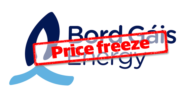 Bord Gais Freezes Electricity Prices