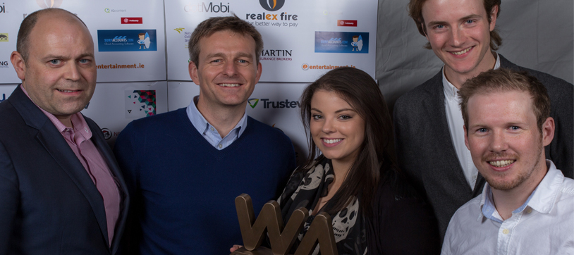bonkers.ie wins the Grand Prix at the Irish Web Awards