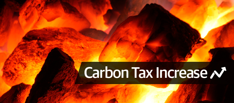 Carbon tax doubles - is it time to cut your own turf?
