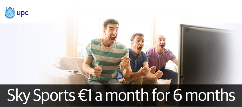 UPC launches €1 Sky Sports deal