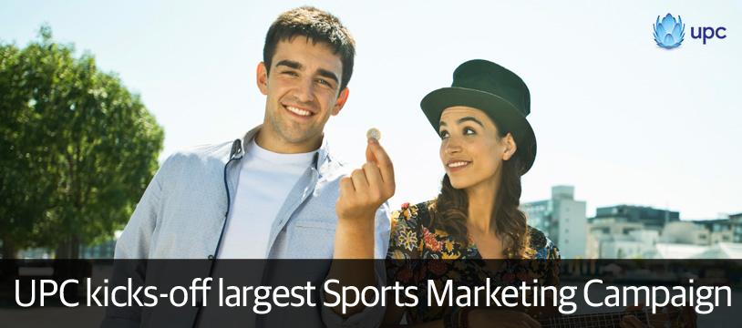 UPC to spend €2 million on autumn sports marketing extravaganza