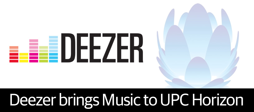 Music to Horizon customers' ears as UPC announces partnership with Deezer
