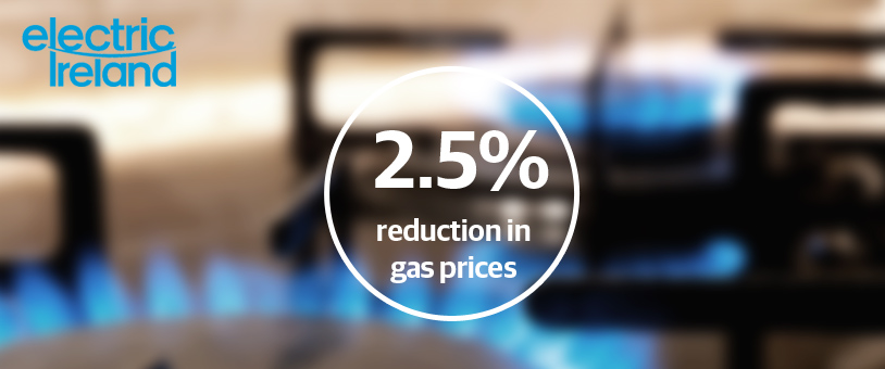 Electric Ireland to cut gas prices