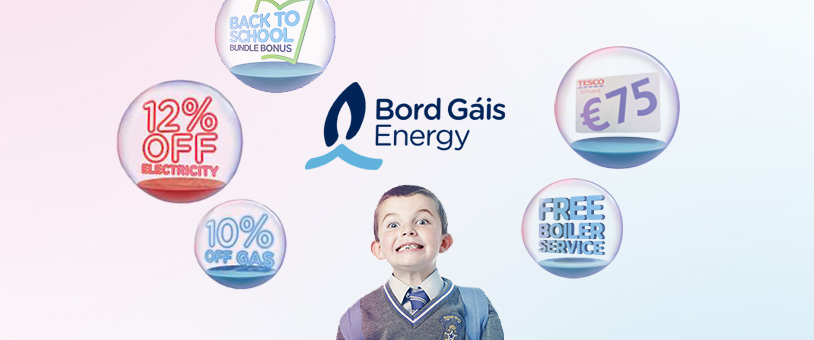 Bord Gáis Energy launches back to school bundle bonus savings