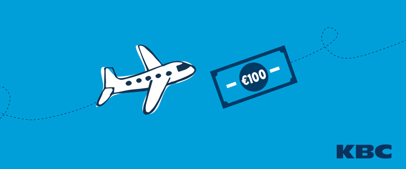 KBC offers two free flights or €100 cash to students