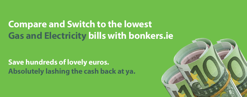 Bonkers.ie: Absolutely Lashing The Cash Back At Ya