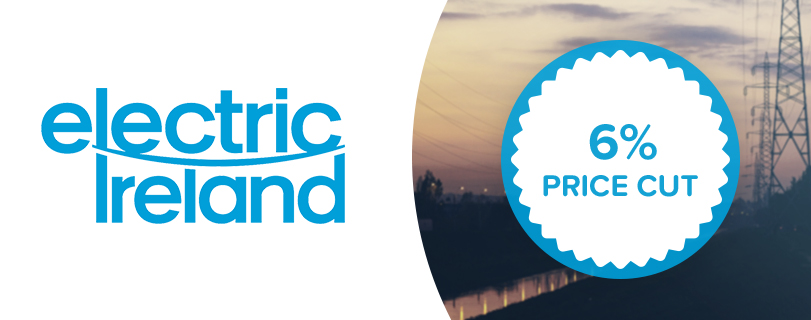 Electric Ireland to cut prices by 6 per cent for 1.2 million electricity customers