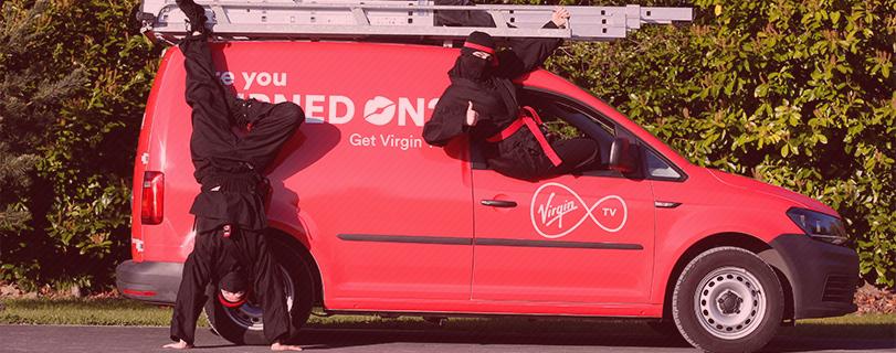 Virgin Media's Ninjas are coming