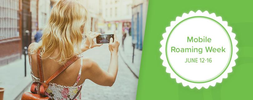Mobile roaming week header
