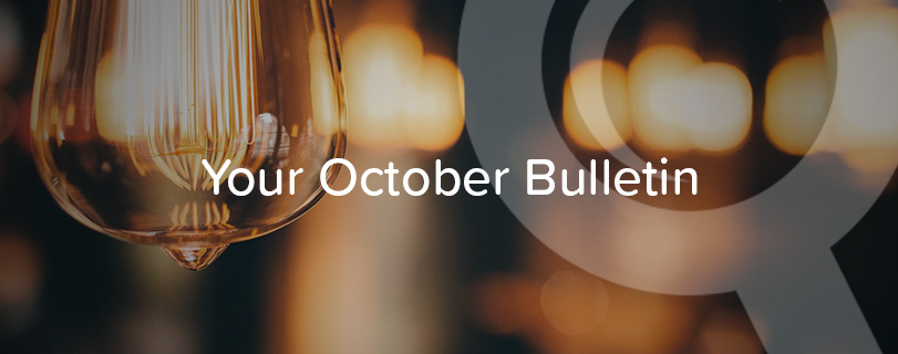 Your October Bulletin