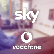 Sky and Vodafone will increase prices for TV, broadband and phone customers in December, following a similar announcement from eir