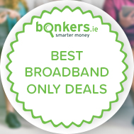 Find a great broadband only deal