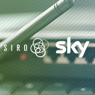 SIRO announces partnership with Sky