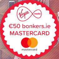 Get a free prepaid Mastercard with Virgin Media and bonkers.ie