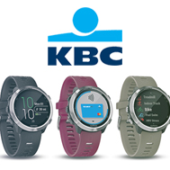 KBC launches Garmin Pay