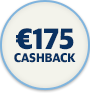 175 cashback