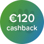 Panda power 120 cashback