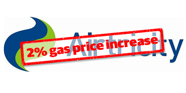 Airtricity Increases Gas Prices