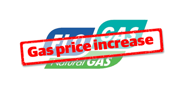 Flogas to increase prices by 1.95%