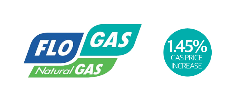 Flogas to increase gas prices by 1.45% in May